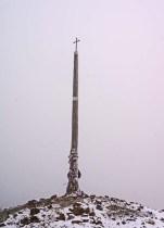 Cruz de Ferro – stands 1504m (4934) above sea level