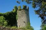 Sarria - castle ruins