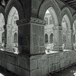 convent cloister in Sarria