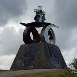 Monte Gozo monument