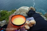 My snack at the edge of the world