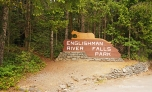 how to get to englishman river falls provincial park