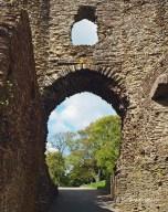 Gate to Launceston Castle