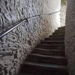 Launceston Castle stairs