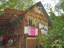 Eden Project - Southeast Asian house