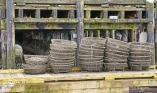 Nanaimo harbour - fishing baskets