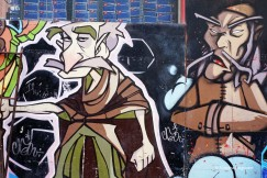 Istanbul Asian side - street art (1)